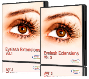 Eyelash Extensions DVD set