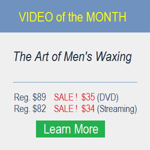 Men's Waxing Training Course | Hair Removal Banner